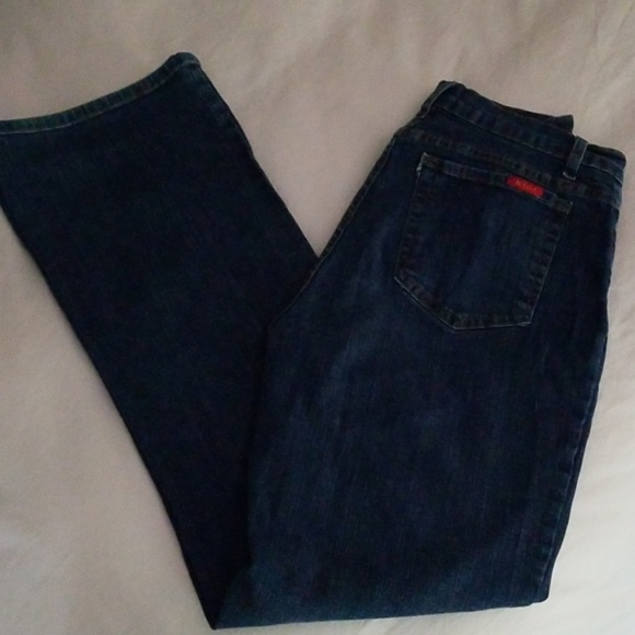 NYDJ Denim - NYDJ Marilyn Straight Tummy Tuck Jeans, Size 10
